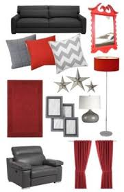Red And Taupe Living Room Ideas by Red And Grey Color Scheme For Living Room Modern Design