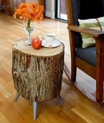 DIY Wood Log Table Projects Tutorials