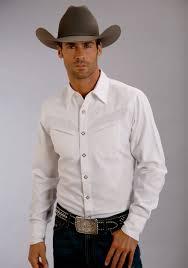 stetson men u0027s duck solid white shirt