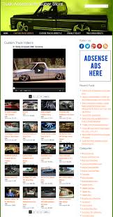 Truck Accessories PLR Amazon Store Website |
