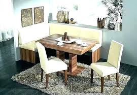 Kitchen Booth Table Breakfast Nook Dining Set Corner Bench New And