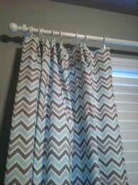 Gray Chevron Curtains Living Room by Blue Chevron Curtains Baby Nursery Room With Chevron