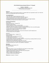 Icu Nurse Resume Examples Sample Rn Inspirational Cna Fresh Bsn