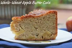 This Whole Wheat Apple Butter Cake