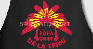 coiffe de cuisine tablier papa chef tribu coiffe indienne spreadshirt