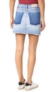 iro jeans taig denim skirt shopbop