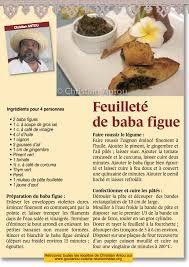 cuisine antou feuilleté de babafigue par christian antou goutanou cuisine de l