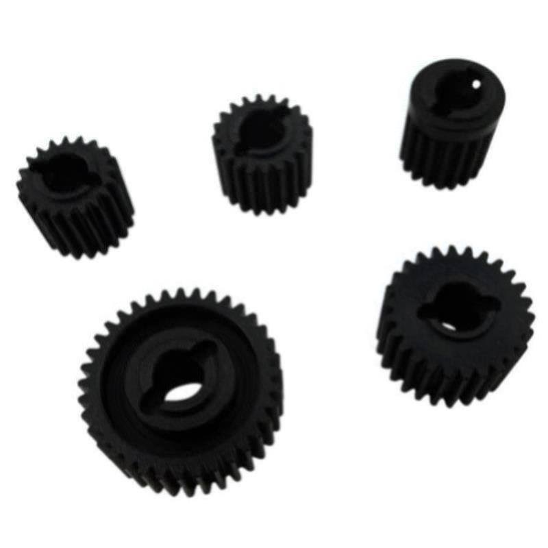 Hot Racing Hardened Steel Gear Set: SCX10 II, HRASCXT1000T