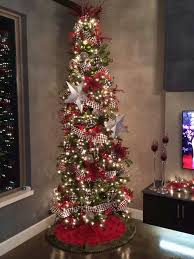 9 Ft White Pencil Christmas Tree by 9 U0027 Slim Christmas Tree Not These Colors But Try Picks And Deco