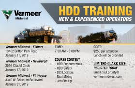 100 Midwest Truck Equipment HDD Fundamentals Training Ft Wayne Vermeer