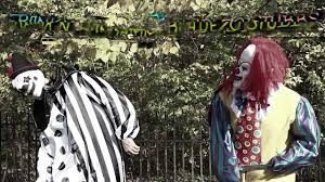 Halloween Scare Pranks by 4 Scary Killer Clowns In The Woods On Halloween Mean Dad Pranks