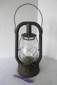 Antique Kerosene Lanterns Value by Antique Primitive Paull U0027s No 0 Oil Kerosene Barn Lantern Red Lamp