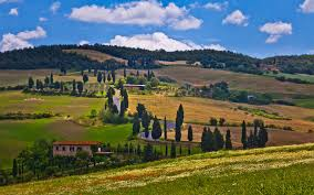 1920x1200 Wallpaper Lucca Tuscany Italy Nature Trees
