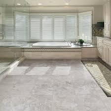 trafficmaster 12 in x 24 in grey travertine vinyl tile