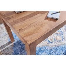 esstisch massivholz akazie 120 cm esszimmer tisch holztisch design küchentisch landhaus stil dunkel braun b h t ca 120 76 60cm