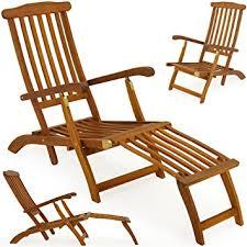 siege relax chaise longue en bois transat bain de soleil jardin