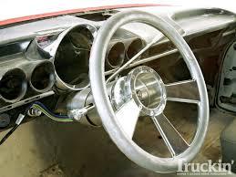 1960 Chevy El Camino Buildup - Ididit Steering Column - Truckin ...