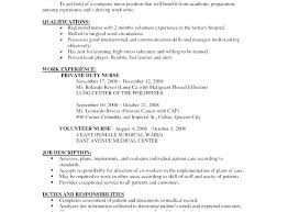 Pacu Rn Resume Beautiful Examples Ideas Example Business
