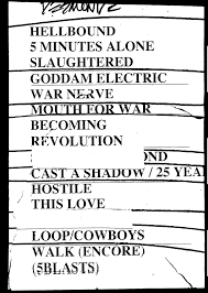 Setlist Smashing Pumpkins by Rock Stars