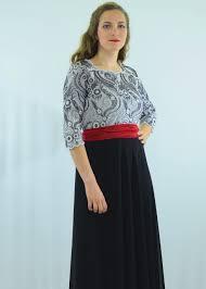 black white u0026 red maxi dress modli