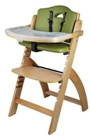 Svan Signet High Chair Cushion by Sepnine Height Adjustable Wooden Highchair Baby High Chair With