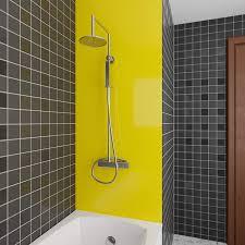 wasserfeste duschrückwand als wandverkleidung 100 x 200 cm bxl pvc kunststoff platte für die dusche in verschiedenen farben langlebige