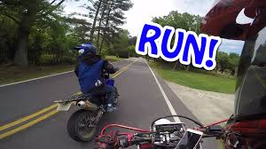 100 Crazy Truck Two Supermotos Chased By After Trespassing Legendary