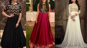 Beautiful Party Gown Design Ideas Dresses Collection For Indian Wedding Season Simple Dress