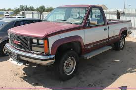 1989 GMC Sierra K2500 Pickup Truck   Item O9332   SOLD! Frid... 1989 Gmc Sierra The Wedding Guest Kyle Lundgren His 89 Like A Rock Chevygmc Trucks 89gmctruck 1500 Regular Cab Specs Photos K3500 Truck Mount Components Plowsite Questions What Model Chevy Truck Body Parts Will Used Pickup Parts Cars Midway U Pull For Sale Classiccarscom Cc1100978 Sierra 7000 Lakeland Fl 5002642361 Chevy 1 Ton 4x4 Dually V3500