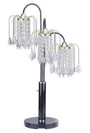 Ore International Floor Lamp Silver by Amazon Com Ore International 716g Table Lamp With Crystal Like