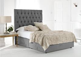 Velvet Super King Headboard by Super King Size Beds Extra Large Beds Xl Beds Time4sleep