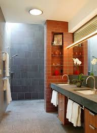 Plants For Bathroom Without Windows by Doorless Shower Designs Teach You How To Go With The Flow