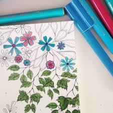 Colouring Book Review Secret Garden O The Crafty Mummy