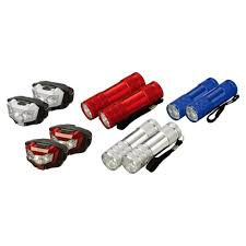 Defiant LED Flashlight And Headlamp Combo (10-Pack)-HD12OTB35c - The ...
