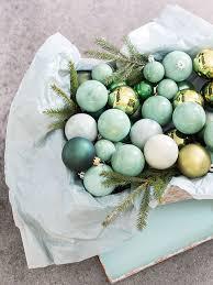 stunning Mint Green Christmas Ornaments Interior