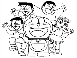 Doraemon Coloring Pages New Printable