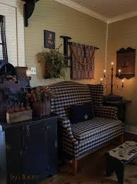 Primitive Curtains For Living Room by Primitive Colonial Fall Primitive Decorating Around My House