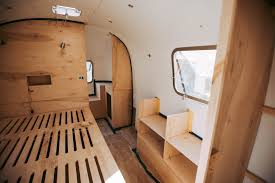 100 Airstream Trailer Restoration Before After Vintage Renovation Apartment Therapy