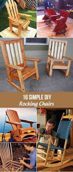 16 Simple DIY Rocking Chairs You Can Build In A Weekend Wooden Folding Rocking Chair Sling Honeydo List Folding Durogreen Classic Rocker White And Antique Mahogany Plastic Outdoor Rocking Chair Giantex Wood Garden Single Porch Indoor Sunnydaze Allweather With Faux Design Hemingway 41 Acacia Patio Jefferson Chairs Barricada Claytor Eucalyptus Wood Administramosabcco