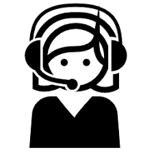 Female Call Center Agent Vector Icon People Icons Download