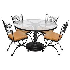 Woodard Andalusian Wrought Iron Patio Dining Set Round Table 4 Chairs Burke Inc Mid Century Modern Saarinen Style Tulip Round Table 4 Chairs Ding Set Donatella 160cm With Parker Set Extendable Walnut Stained Table Bench And Chairs Natura Ding Tablebench4 Nat0088 Molly 48 Upholstered Side Dning Room Versilia Extending Grey Barker Stonehouse 5pcs Glass Metal Kitchen Breakfast Fniture Julian Bowen Richmond Midnight Blue Chrome Lucite 70s Hollis Jones Era Costway 5 Piece And Home Room