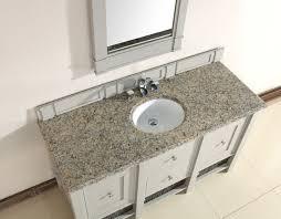 Single Sink Bathroom Vanity With Granite Top by Abstron 60 Inch Grey Single Sink Bathroom Vanity Optional Countertops