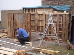 Adventures in pallet shed building