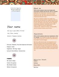 Marriage Biodata Format For Download Your Name Age In Years Date Of Birth City State