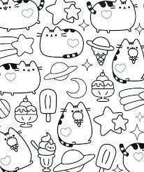 Kawaii Coloring Pages Inspirational 94 Best Pusheen Book Ideas Of
