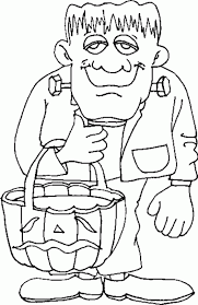 Kids Halloween Coloring Pages Free Printable Throughout