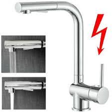 details zu niederdruck armatur küche wasserhahn ausziehbar küchenarmatur mit brause boiler