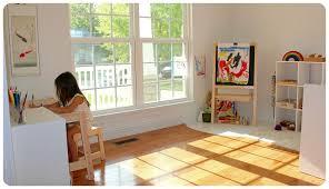 Montessori at Home Lynne s Art Space – Villa di Maria Montessori
