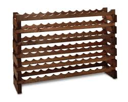 Modular Australian Pine Wine Racks