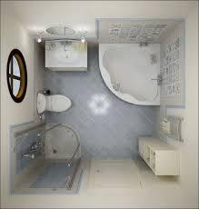 badezimmergestaltung ideen kleine bäder eckbadewanne lage